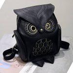 Mini sac Mode Owl Cartoon Sac à dos Filles Pu cuir de la marque image 1 produit