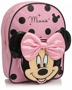 Minnie Mouse Pink and Black Sac à dos with Bow de la marque Disney image 0 produit