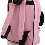 Minnie Mouse Pink and Black Sac à dos with Bow de la marque Disney image 1 produit