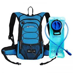 Miracol Hydratation Sac à dos avec 2L eau Vessie - Isolement Thermique Paquet Garde liquide froid jusqu'à 4 heures - Storage Meilleur Outdoor Gear pour Running, randonnée, cyclisme et Plus … de la marque image 0 produit