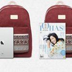 MojiDecor Sac à dos Canevas Style Bohême Cartable Backpack Unisexe Multifonction pour Loisir École Shopping Voyage Travail Camping de la marque image 5 produit