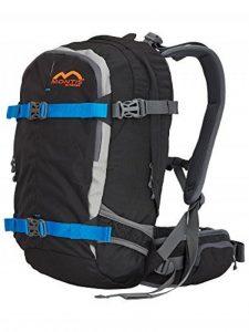 MONTIS PRORIDE 28 - Sac à dos avec protection dorsale - 28 L - 53 x 26 - 1450 g, noire de la marque image 0 produit