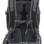 MONTIS PRORIDE 28 - Sac à dos avec protection dorsale - 28 L - 53 x 26 - 1450 g, noire de la marque M MONTIS OUTDOOR image 5 produit