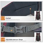 Mountaintop 40L Sac à dos de randonée éthanche 20,1 x 13,8 x 6,3 pouces de la marque image 6 produit
