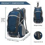 Mountaintop 40L Sac à Dos Mixte Pour Camping/Voyage/Randonnée 35 x 55 x 25 cm de la marque image 1 produit
