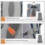 Mountaintop 40L Sac à Dos Mixte Pour Camping/Voyage/Randonnée 35 x 55 x 25 cm de la marque image 6 produit