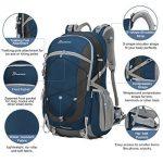 Mountaintop 40L Sac à Dos Mixte Pour Camping/Voyage/Randonnée 35 x 55 x 25 cm de la marque MOUNTAINTOP image 2 produit
