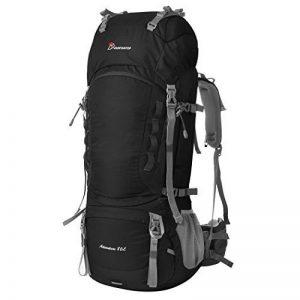Mountaintop 60L/80L Sac a dos de randonnée/sac au dos avec housse de pluie pour escalade camping randonnée Trekking Voyage Alpinisme de la marque image 0 produit