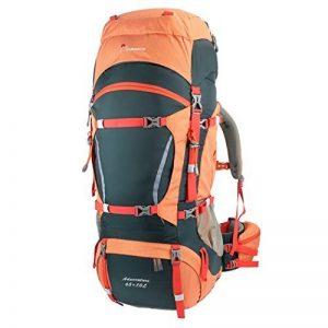 Mountaintop 70L + 10L Sac à dos de randonnée/sac au dos Trekking Sac avec housse de pluie pour l'escalade,le camping,la randonnée pédestre, Voyage et Alpinisme,33,5 x 18,3 x 11,8 pouces de la marque MOUNTAINTOP image 0 produit