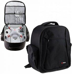 Navitech Noir Backpack Sac à dos Housse pour le DJI Phantom 4 Pro de la marque Navitech image 0 produit