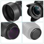 Neewer 52mm Objectif Filtre Kit d'Accessoire pour Nikon D7100 D7000 D5200 D5100 D5000 D3300 D3200 D3100 D3000 D90 D80 Appareils Photo Reflex Numériques - Inclus: 52mm Ensembre de Filtre (UV, CPL, FLD) + Ensemble de Filtre ND Densité Neutre + Sac de Tr image 3 produit
