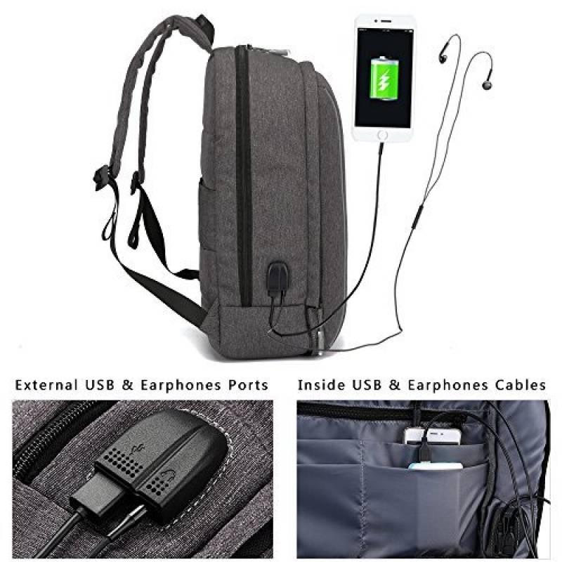 adce65c3af Sac à Dos Ordinateur Portable, XQXA 17