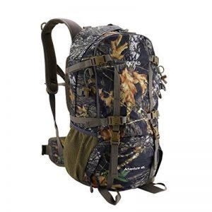 outad 40L Sac à dos trekking Nylon Military Backpack Camping Sac de randonnée Tactical étanche pour la chasse, camping, les loisirs, Voyage, alpinisme, Outdoor avec Nylon résistant de la marque image 0 produit