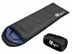 Peanut Par EGOZ Sac de couchage Facile à transporter chaud adulte 3 saisons Sports de plein air Randonnée Camping avec sac de transport de la marque Egoz image 0 produit