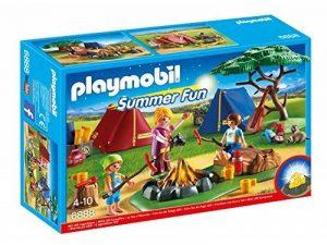 Playmobil - 6888 - Camp with LED campfire de la marque image 0 produit