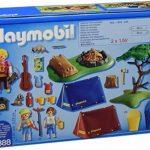 Playmobil - 6888 - Camp with LED campfire de la marque image 1 produit