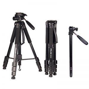 POLAM-FOTO 176.5cm 2-en-1 Trépied-Trépied/Monopied(Monopod) Photo Trépied Professionnel en Aluminium avec Sac pour Canon/Nikon/Sony DSLR/SLR Caméra de la marque POLAM-FOTO image 0 produit