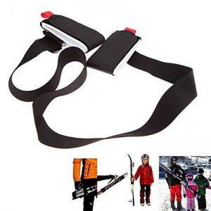 Porte Skis, Bandoulière Réglable pour Pack Ski, Système de Transport de Skis de la marque image 0 produit