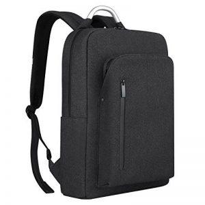REYLEO Sac à dos pour Homme Élégant Sac a dos d'affaires pour Ordinateur portable 15,6'' Business Backpack 19 L Gris foncé RB25 de la marque REYLEO image 0 produit