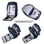 Sac à dos Antivol,Sac à dos pour ordinateur portable pour 15.6/17.3 pouces avec port de charge USB Sac a dos pour voyager/loisir/affaires,homme/femme de la marque image 2 produit