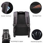 Sac à dos Antivol,Sac à dos pour ordinateur portable pour 15.6/17.3 pouces avec port de charge USB Sac a dos pour voyager/loisir/affaires,homme/femme de la marque image 4 produit