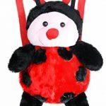 Sac à Dos Bébé Maternelle En Peluches Adorable Cartable Crèche Cartoon 3D Pingouin Jouet Doudou Backpack Mini-Cadeau Pour Primaire Préscolaire Petite Fille Garçon de la marque LY image 1 produit