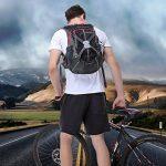 Sac à Dos Cyclisme,Sacs à dos de randonnée 18L ISIYINER Respirant Sac à Dos Pour Sports de Plein Air Équitation Voyage Cyclisme Moto Alpinisme de la marque image 2 produit