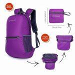 Sac à dos de sport Ultra Léger Pliable Sac à dos de randonnée Pour camping, randonnée,voyage,fitness Sac étanche 20L de la marque ZOMAKE image 2 produit