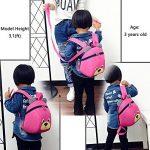 Sac A Dos Enfant Avec Anti Lost Laisse Harnais De SéCurité Sangle Maternelle Garcon Fille(1-3ans) de la marque Lakeausy image 2 produit