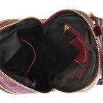 Sac à dos et sac bandoulière en cuir, pour femme, made in Italy de la marque image 5 produit