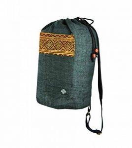 Sac à dos ethnique de virblatt sac bandoulière ethnique sativa sac sac sativa en 100 % chanvre décoré et tissé à la main vêtements originaux Gerechtigkeit de la marque image 0 produit