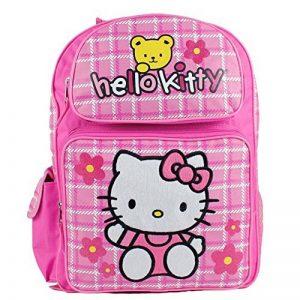 Sac à dos–Hello Kitty–ours (Grand Sac d'école) Nouveau livre filles 81601–4 de la marque Hello Kitty image 0 produit