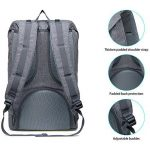 Sac à dos léger pour ordinateur portable WIN•DF Outdoor Travel Rucksack Casual Large Daypack pour hommes et femmes de la marque image 4 produit