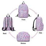 Sac à dos Licorne, Tezoo Imperméable Super léger 35L Sports Voyage Backpack Design Kawaii pour École Enfant Fille Garçon Rentrée scolaire - Rose Bleu de la marque Tezoo image 3 produit
