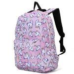 Sac à dos Licorne, Tezoo Imperméable Super léger 35L Sports Voyage Backpack Design Kawaii pour École Enfant Fille Garçon Rentrée scolaire - Rose Bleu de la marque image 1 produit