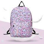 Sac à dos Licorne, Tezoo Imperméable Super léger 35L Sports Voyage Backpack Design Kawaii pour École Enfant Fille Garçon Rentrée scolaire - Rose Bleu de la marque image 6 produit