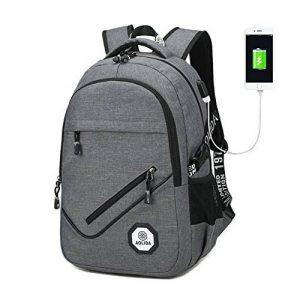Sac à Dos Ordinateur Portable PC ,Multifonctionnel Impermeable sac à dos collège port de charge USB pour college Scolaire Affaire Loisirs de la marque VOMAX image 0 produit