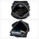 Sac à dos Ordinateur Portable, Tezoo Imperméable Super léger 30L Backpack avec Prise USB pour École Étudiant Homme Femme Business - Noir de la marque image 4 produit