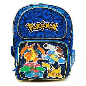 Sac à dos–Pokémon–Pikachu Bleu 40,6cm Grand Sac école New 847125 de la marque image 0 produit