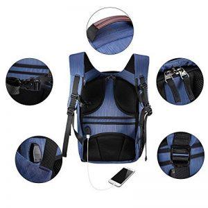 Sac à dos pour appareil photo et Reflex et accessoires, Pbreack Sac à dos Caméra vidéo étanche randonnée housse sacoche anti-choc (Bleu) de la marque Pbreack image 3 produit