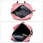 Sac à dos pour ordinateur portable, Tezoo Impémeable Super léger 30L Backpack avec Prise USB pour École Étudiant Homme Femme Business - Rose de la marque image 4 produit