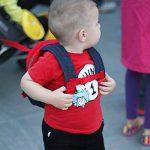 Sac à dos pour tout-petit avec laisse empêche vos enfants de s'échapper ! Joli sac avec harnais de sécurité pour enfants d'âge préscolaire ! Garde les objets indispensables prêts pour la crèche ! de la marque image 4 produit