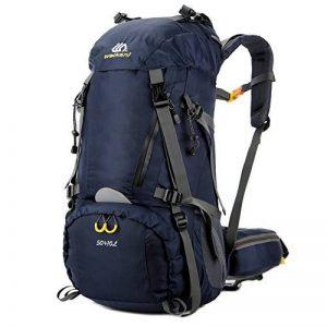 Sac à dos randonnée 45L + 5L 50L 65L+5L Housse Imperméable pour Sport Sacs de trekking Camping Backpack Alpinisme Escalade de la marque image 0 produit