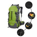 Sac à dos randonnée 45L + 5L 50L 65L+5L Housse Imperméable pour Sport Sacs de trekking Camping Backpack Alpinisme Escalade de la marque image 1 produit