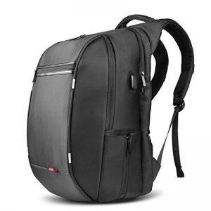 Sac à Dos, SPARIN Sacoche Ordinateur Portable 17.3 Pouces Laptop Backpack Avec [Port USB], Sac à Dos Voyage, Sac Business Pour Hommes et Femmes [ Cachette Anti-vol ] [Multi-fonctionnel] [Grande Capacité], Noir de la marque image 0 produit