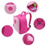 Sac à dos Termichy pour enfant de 2 à 6 ans fille (rose) – Modèle Fire HD 8 édition enfants – Format pour tablette et casque. de la marque image 2 produit