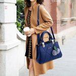 Sac a main Femme Simple Mode Sacs à main Sac d'épaule Pour Filles de la marque image 4 produit