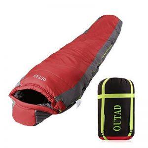 Sac de couchage ultraléger Sac de couchage momie et sac de compression Imperméable à l'eau pour Pour Camping, Voyages, Randonnée et Autres Activités de Plein Air de la marque KMtar image 0 produit