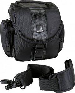 Sac de haute qualité pour appareil photo bridge et appareils photo système adaptées pour Panasonic DMC-FZ72 DMC-FZ200 DMC-FZ300 DMC- FZ1000 Sony DSC-H300 DSC-HX300V DSC-HX400V DSC-HX60 Nikon coolpix B500 B700 L840 et bien plus de la marque Bodyguard image 0 produit