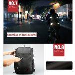 """Sac ¨¤ dos Antivol USB et Port de charge Antipluie Fashion en nylon Ordinateur portable/Tablette PC ¨¤ 13""""-15"""" de la marque image 4 produit"""